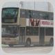 PV7695 @ 968 由 doerib1 於 西區海底隧道收費廣場九龍方向巴士站出站(西隧門)拍攝