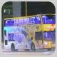 RB1701 @ 71 由 KN9301 於 薄扶林道香港大學任白樓巴士站面向寶翠園梯(寶翠園梯)拍攝