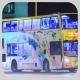 RB1701 @ 71 由 7537 於 薄扶林道香港大學任白樓巴士站面向寶翠園梯(寶翠園梯)拍攝