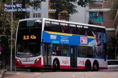 TF5838 @ 42M 由 AP157 於 青敬路左轉長安巴士總站門(入長安巴總門)拍攝