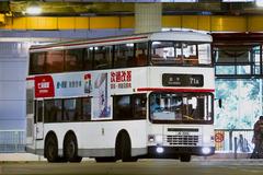 JD3215 @ 71A 由 始至終都係要 於 大埔墟巴士總站落客站右轉梯(大埔墟巴總落客站右轉梯)拍攝