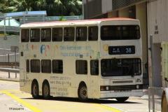 GA1614 @ 38 由 EU5923.GD1673 於 安田街左轉入平田巴士總站梯(平田巴士總站梯)拍攝