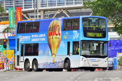 LE3009 @ 914 由 電 子 油 針 於 海麗邨巴士總站右轉深旺道梯(出海麗邨巴士總站梯)拍攝
