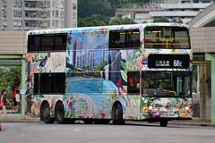 JE834 @ 68E 由 TH 659 於 青衣鐵路站巴士總站入上客站梯(青機入上客站梯)拍攝