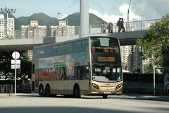 SE3711 @ 868 由 PC5322+TW1243 於 大埔公路沙田段右轉沙田馬場入站梯(沙田馬場巴士總站入站梯)拍攝
