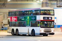 HS9627 @ 46X 由 CTC 於 大圍鐵路站巴士總站面向46S總站梯(46S總站梯)拍攝