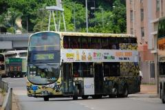PW3593 @ 182 由 JN4317 於 愉翠苑巴士總站出站門(愉翠苑出站門)拍攝