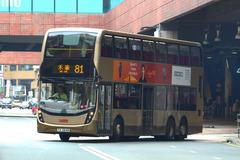 TX5648 @ 81 由 RD9278 於 沙田市中心巴士總站左轉沙田正街門(新城市廣場出站門)拍攝