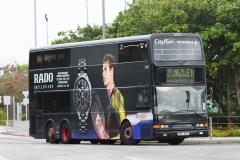 航天城路左轉機場博覽館巴士總站通道梯