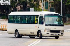 RB7014 @ 1 由 LB9087 於 愉景廣場總站右轉愉景灣道梯(愉景廣場出站梯)拍攝