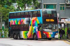 TF5838 @ 88K 由 海星 於 顯徑街顯田村巴士站西行梯(顯田村梯)拍攝