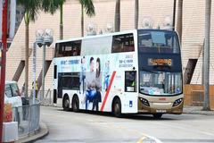 TR1279 @ 6 由 Ch1ng05 於 尖沙咀碼頭巴士總站入站位面向文化中心梯(尖碼入站梯)拍攝