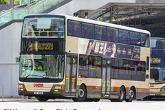 UK8591 @ 271 由 hr9234 於 西九龍站巴士總站轉出海泓道門(西九出站門)拍攝