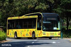INTBUS @ OTHER 由 Samson Ng . D201@EAL 於 迪士尼樂園巴士總站入U梯(迪士尼樂園巴士總站入U梯)拍攝