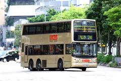 KX4760 @ 24 由 FX7611 於 啟業巴士總站右轉宏照道梯(陳楚思中學梯)拍攝