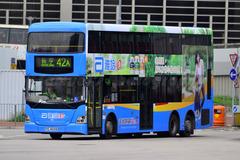 PC4032 @ 42A 由 samuelsbus 於 佐敦渡華路巴士總站入站門(佐渡入站門)拍攝