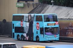 TD1189 @ 171 由 麵包 於 康莊道紅磡海底隧道九龍出口梯(紅隧口梯)拍攝