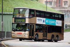 JD8739 @ 15 由 TH 659 於 平田巴士總站左轉出安田街門(平田巴士總站門)拍攝