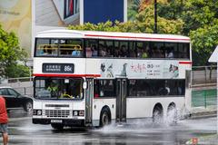 HU8420 @ 86K 由 始至終都係要 於 沙田鄉事會路上沙田鐵路站巴士總站門(康文署門)拍攝