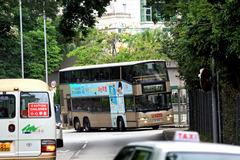 大埔公路大埔滘段面向翡翠花園分站梯