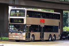 JU5403 @ 42 由 新手巴迷 於 荔枝角道東行面向荔枝角消防局門(九巴總部門)拍攝