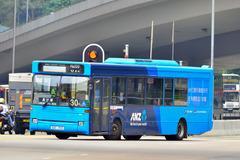 GU719 @ 30 由 電 子 油 針 於 青山公路荃灣段右轉大涌道門(大涌道門)拍攝