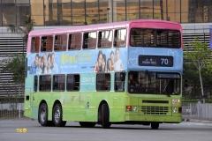 FX7484 @ 70 由 TKO 於 佐敦匯翔道巴士總站出坑梯(佐匯出坑梯)拍攝