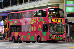 TH1110 @ 116 由 samuelsbus 於 英皇道東行面向 Shama Fortress Hill 梯(Burger King