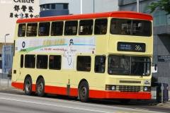 FX6545 @ 36A 由 GK2508~FY6264 於 和宜合道南行面對鄧肇堅男女童軍中心梯 (鄧肇堅男女童軍中心梯)拍攝