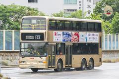 JK5844 @ 53 由 顯田村必需按鐘下車 於 屏廈路與洪天路交界西行門(洪天路門)拍攝