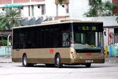 啟業巴士總站出站梯
