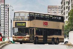 LE4612 @ 263 由 小瀝源爆炸頭 於 大埔公路沙田段出口左轉沙田鄉事會路門(HomeSquare門)拍攝