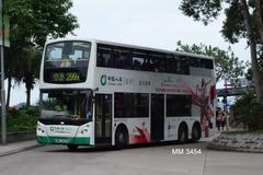 MM3454 @ 299X 由 KC SixSevenZeroFive 於 西貢巴士總站入站門(西貢巴士總站入站門)拍攝