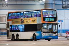 MV6593 @ 80K 由 白賴仁 於 大圍鐵路站巴士總站面向46S總站梯(46S總站梯)拍攝