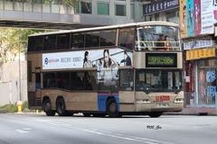 JS7186 @ 68M 由 GM6754 於 西樓角路左轉荃灣鐵路站巴士總站梯(入荃灣鐵路站巴士總站梯)拍攝