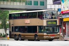 LE4612 @ 68M 由 佐敦(渡華路) 於 西樓角路左轉荃灣鐵路站巴士總站梯(入荃灣鐵路站巴士總站梯)拍攝
