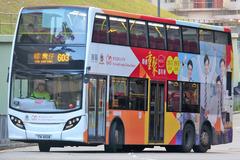 TN6108 @ 603 由 Fai0502 於 平田巴士總站左轉出安田街門(平田巴士總站門)拍攝