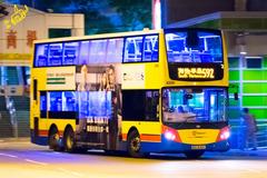 RU9401 @ 592 由 ~CTC 於 怡南道左轉海怡半島巴士總站梯(入海怡半島巴士總站梯)拍攝