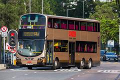 VM3345 @ 74A 由 985 to Choa Chu Kang 於 大涌橋路左轉翠榕橋門(翠榕橋門)拍攝