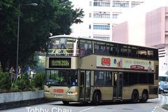 JR9572 @ 219X 由 Tobby Chau 於 麗港城巴士總站左轉出茶果嶺道門(出麗港城總站門)拍攝