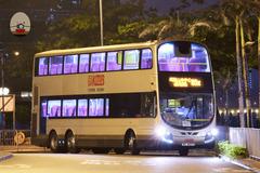 VC4277 @ 85X 由 顯田村必需按鐘下車 於 紅磡碼頭巴士總站右轉入坑尾梯(紅碼入落客站梯)拍攝
