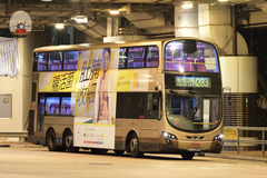 PJ6380 @ N283 由 顯田村必需按鐘下車 於 麼地道巴士總站上客坑梯(麼地道上客坑梯)拍攝