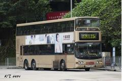 KT6491 @ 11K 由 KT6491 於 竹園巴士總站出坑梯(竹園出坑梯)拍攝