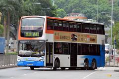 MV6593 @ A41 由 TKO 於 愉翠苑巴士總站出站門(愉翠苑出站門)拍攝