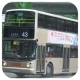 JA684 @ 43 由 FY 8389 於 荃灣西鐵路站總站入站荃灣西D出口對出門(荃灣西D出口門)拍攝