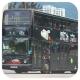 JE1364 @ 46X 由 GK2508~FY6264 於 車公廟路與大圍鐵路站入口交界門(入大圍鐵路站門)拍攝