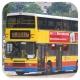 HG3906 @ 72A 由 Va 於 南朗山道右轉黃竹坑新巴士總站門(黃竹坑新巴總入站門)拍攝