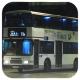 FN7122 @ 73A 由 FB8617 x GX9743 於 愉翠苑巴士總站 80K 站尾門(愉翠苑巴士總站入站門)拍攝