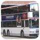 HU9385 @ 86 由 FB8617 x GX9743 於 白鶴汀街帝都酒店巴士站(帝都酒店梯)拍攝