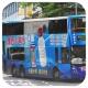 KY5722 @ 671 由 HE 6672 ` 於 龍蟠街左轉入鑽石山鐵路站巴士總站梯(入鑽地巴士總站梯)拍攝